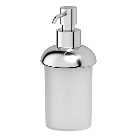 Дозатор жидкого мыла настольный (пластик; хром) FBS UNI 008