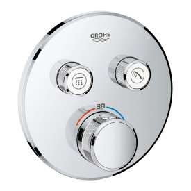 Термостат Grohe  для ванны/душа 2 кнопки управления 29119000