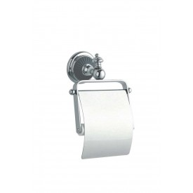 Держатель для туалетной бумаги с крышкой Boheme Vogue 10181