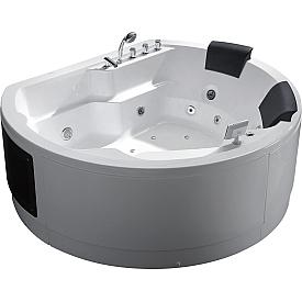 Ванна  с гидромассажем отдельностоящая Gemy G9063 K