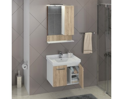 Зеркало-шкаф Comforty Рига-60 00004142211