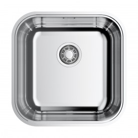 Кухонная мойка Omoikiri Omi 44-U,IF-IN Quadro 4993494 нержавеющая сталь