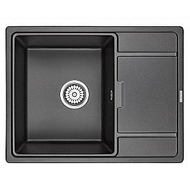 Мойка для кухни кварцевая Paulmark Weimar PM216550-BL