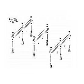 Ножки для душевого поддона Riho 451 (R55)  6 опор POOTSET69