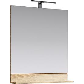 Фостер Панель с зеркалом и светильником AQWELLA FOS0207DS