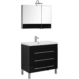 Комплект мебели для ванной комнаты    Aquanet #00230317