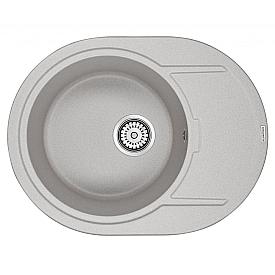 Мойка для кухни кварцевая Paulmark Oval PM316502-GR