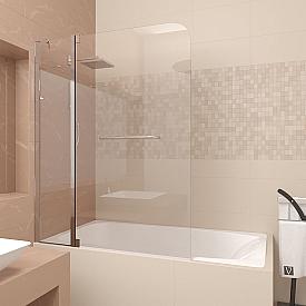 Шторка на ванну Veconi PL82-120-01-19C2