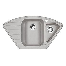 Мойка для кухни кварцевая Paulmark Wiese PM529050-GR