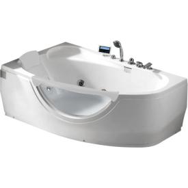 Ванна угловая с подголовником Gemy 161х96 G9046 K L