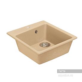 Мойка для кухни Парма квадратная латте Aquaton 1A713032PM260