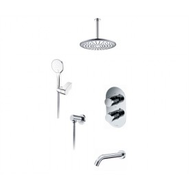 Душевой комплект для ванной WasserKRAFT А174868 Thermo