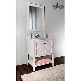 Комплект мебели для ванной комнаты  белый Timo И0000081