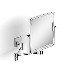 Зеркало поворотное косметическое квадратное увеличительное LANGBERGER 72485