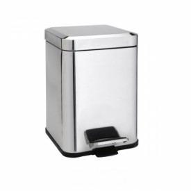 Квадратная мусорная корзина  Bemeta 125115071 6 л