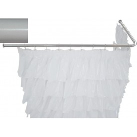 Карниз для ванны угловой Г-образный Aquanet 170x80  241458