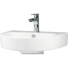Раковина врезанная в столешницу в ванной BelBagno  BB0115L