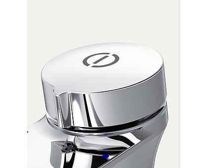 F50A02500 Inspire V2.0 смеситель для умывальника нажимной хром.