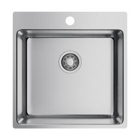 Кухонная мойка Omoikiri Amadare 50-IN 4993766 нержавеющая сталь