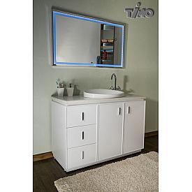 Комплект мебели для ванной комнаты  белый Timo И0000071