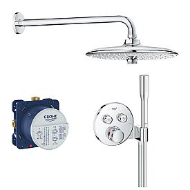 Термостат Grohe  для ванны/душа с держателем для ручного душа 29120000