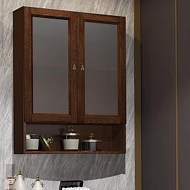 Шкаф Клио 63 подвесной 2 створчатый, с матовым стеклом Opadiris Z0000014977