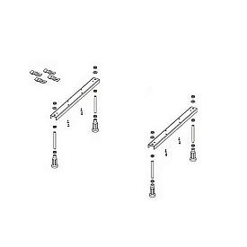 Ножки для душевого поддона Riho 402 412  5 опор POOTSET62