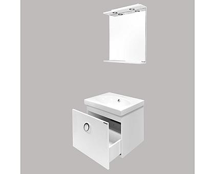 Тумба-умывальник Comforty Магнолия-60 подвесная с раковиной 00003120088