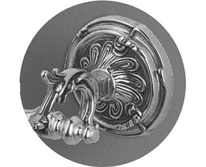 Стойка напольная для унитаза и биде с держателем щетки и туалетной бумаги ART&MAX AM-1948-Br-C