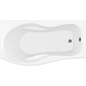 Ванна акриловая асимметричная Aquanet  Borneo 170х75 203909