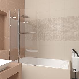 Шторка на ванну Veconi PL81-80-01-19C1