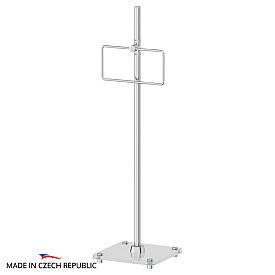 Стойка с держателем полотенца прямоугольным для ванной FBS UNI 307 80 см