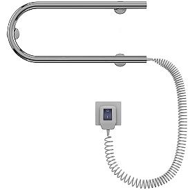 Полотенцесушитель электрический Terminus П-образный 25 DM 500x225 1609-2635