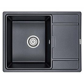 Мойка для кухни кварцевая Paulmark Weimar PM216550-BLM