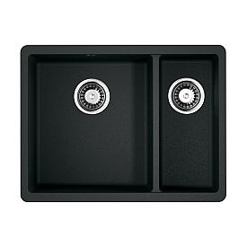 Кухонная мойка Omoikiri Kata 55-2-U-BL 4993389 черный
