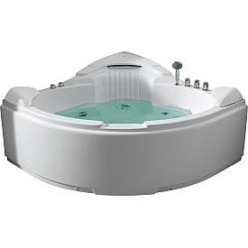 Ванна  угловая с подголовником Gemy G9082 B