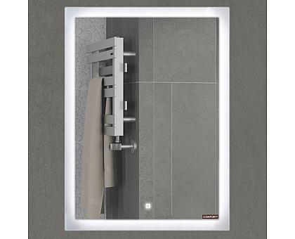 Зеркало Comforty Гиацинт 60 LED-подсветка сенсор 600x800 00-00000699