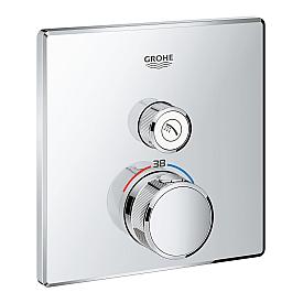 Термостат Grohe  для ванны/душа 1 кнопка управления 29123000