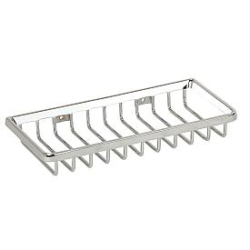 BASKET Решетка прямоугольная 11х22хh3 см., хром