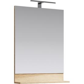 Фостер Панель с зеркалом и светильником AQWELLA FOS0206DS