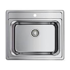 Кухонная мойка Omoikiri Ashi 56-IN 4993449 нержавеющая сталь