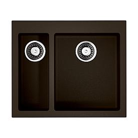 Кухонная мойка Omoikiri Bosen 59-2-DC 4993223 темный шоколад