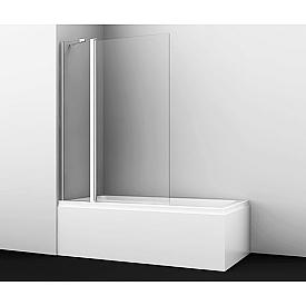 48P02-110 Стеклянная шторка на ванну WasserKRAFT