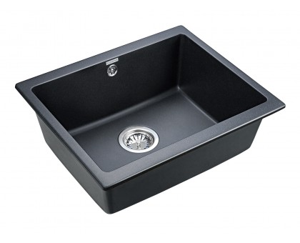 Мойка для кухни кварцевая Paulmark Gera PM205546-BLM