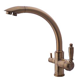 Смеситель для кухни с каналом для фильтрованной воды Swedbe Selene Plus 8043