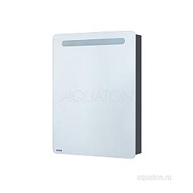 Зеркальный шкаф Америна 60 левый белый Aquaton 1A135302AM01L
