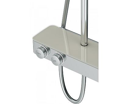 F0750A400 Inspire V2.0 душевая система набор: см-ль для душа с термостатом верхний душ d 250 мм ру