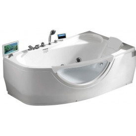 Ванна акриловая угловая Gemy  G9046 II O R