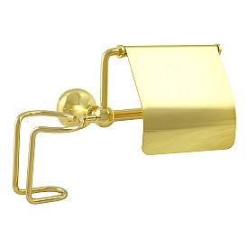 GIALETTA Бумагодержатель закрытый с держателем освежителя воздуха, золото