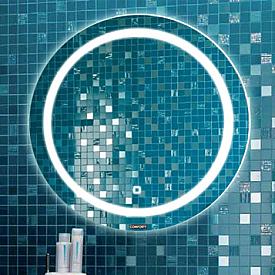 Зеркало Comforty Круг-60 светодиодная лента сенсор 00004140524